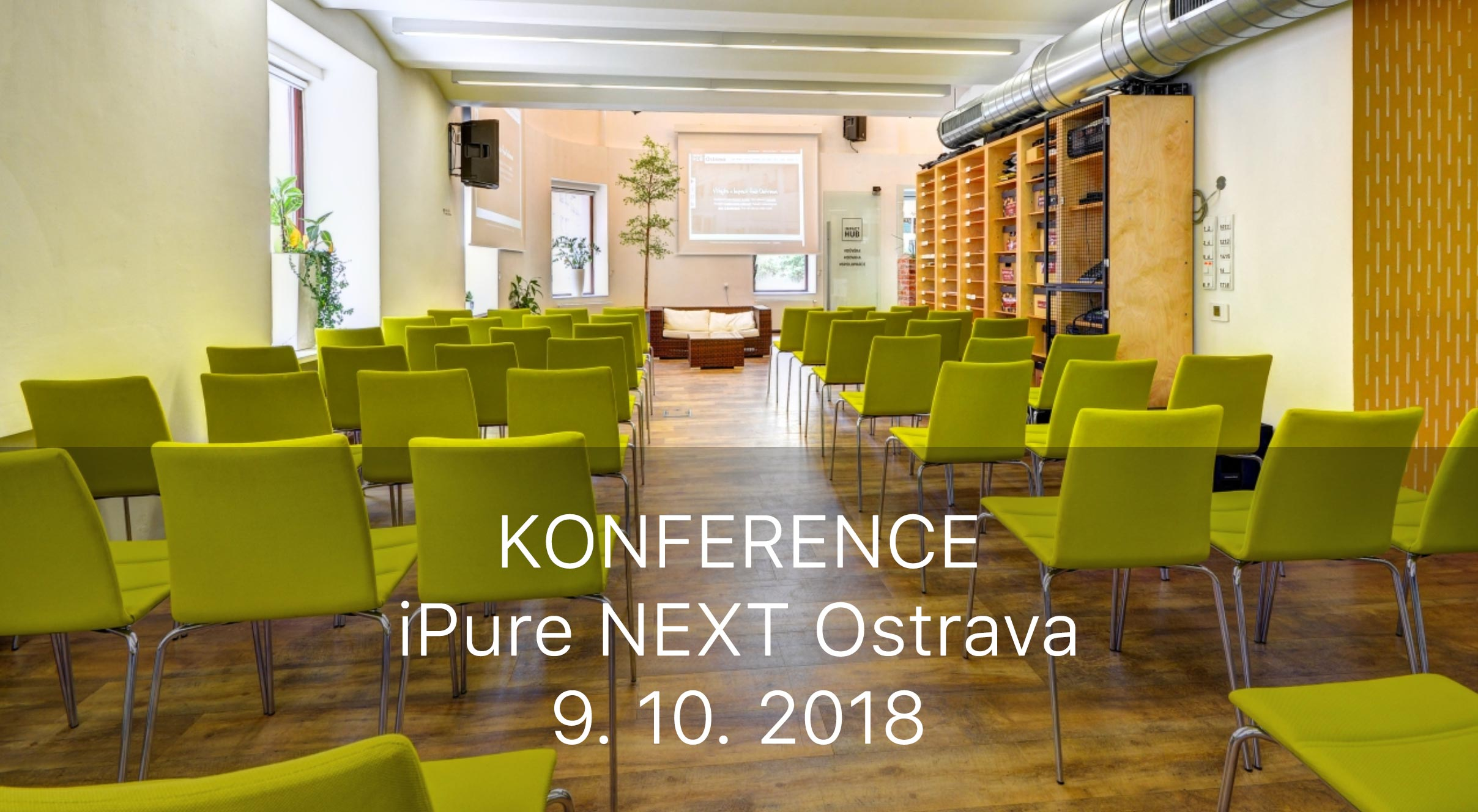 Konference iPure NEXT Ostrava
