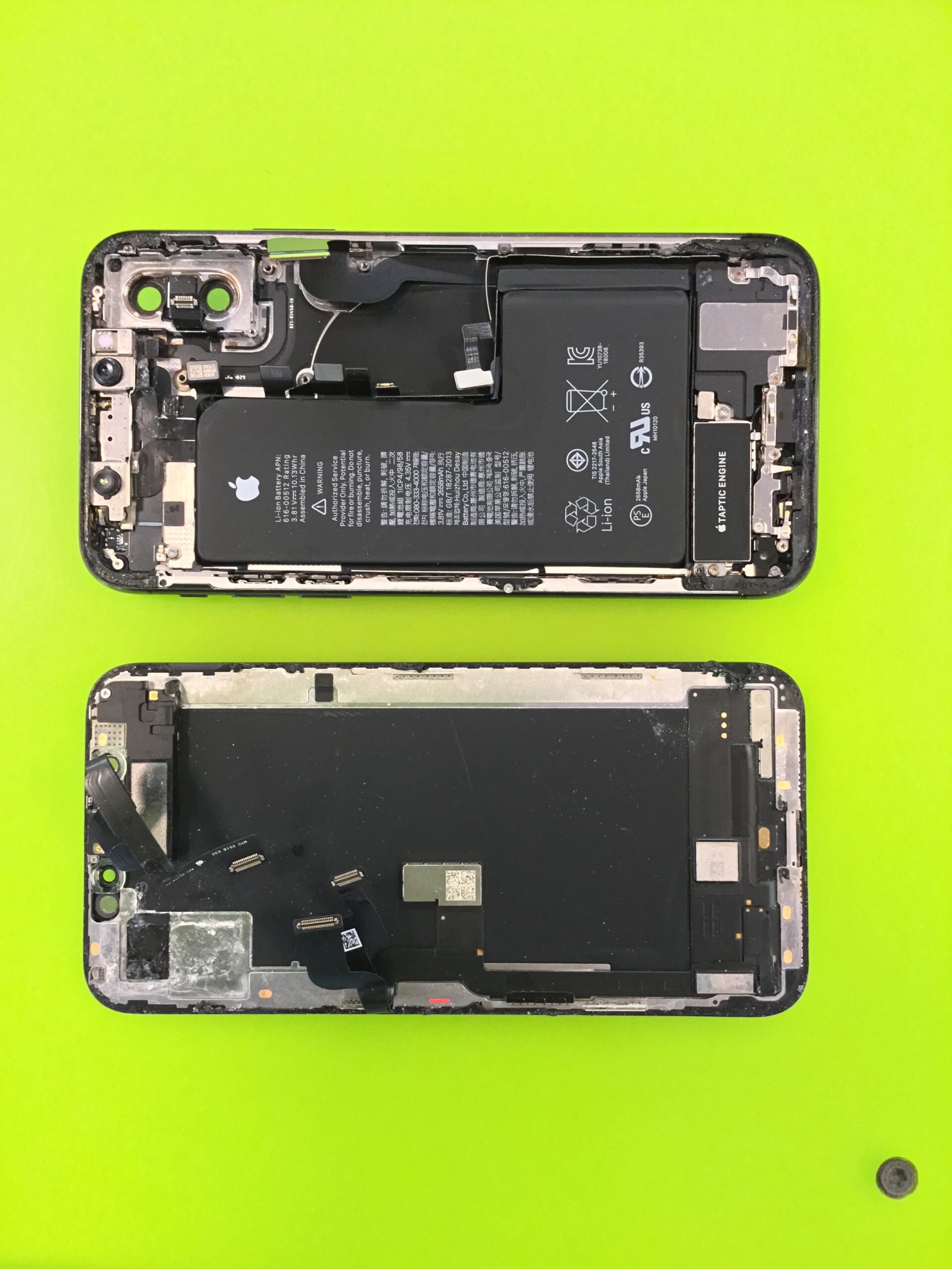 Utopený iPhone
