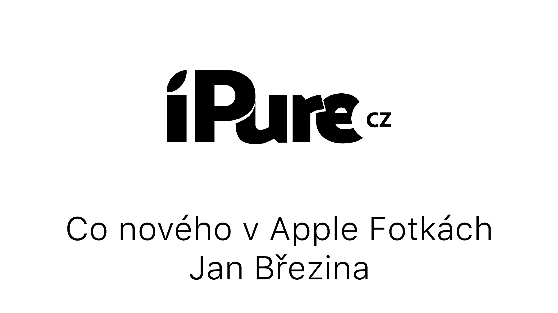 Co nového v Apple Fotkách