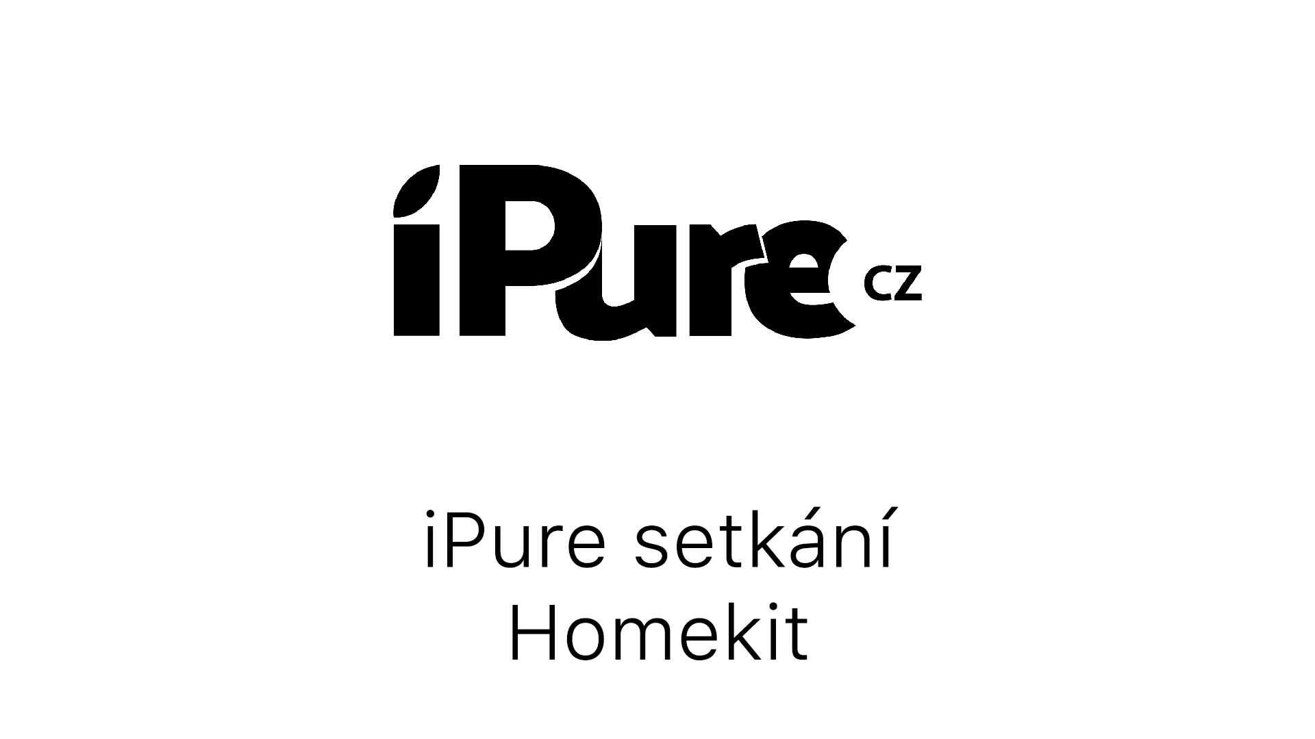 Homekit - setkání Apple fandů