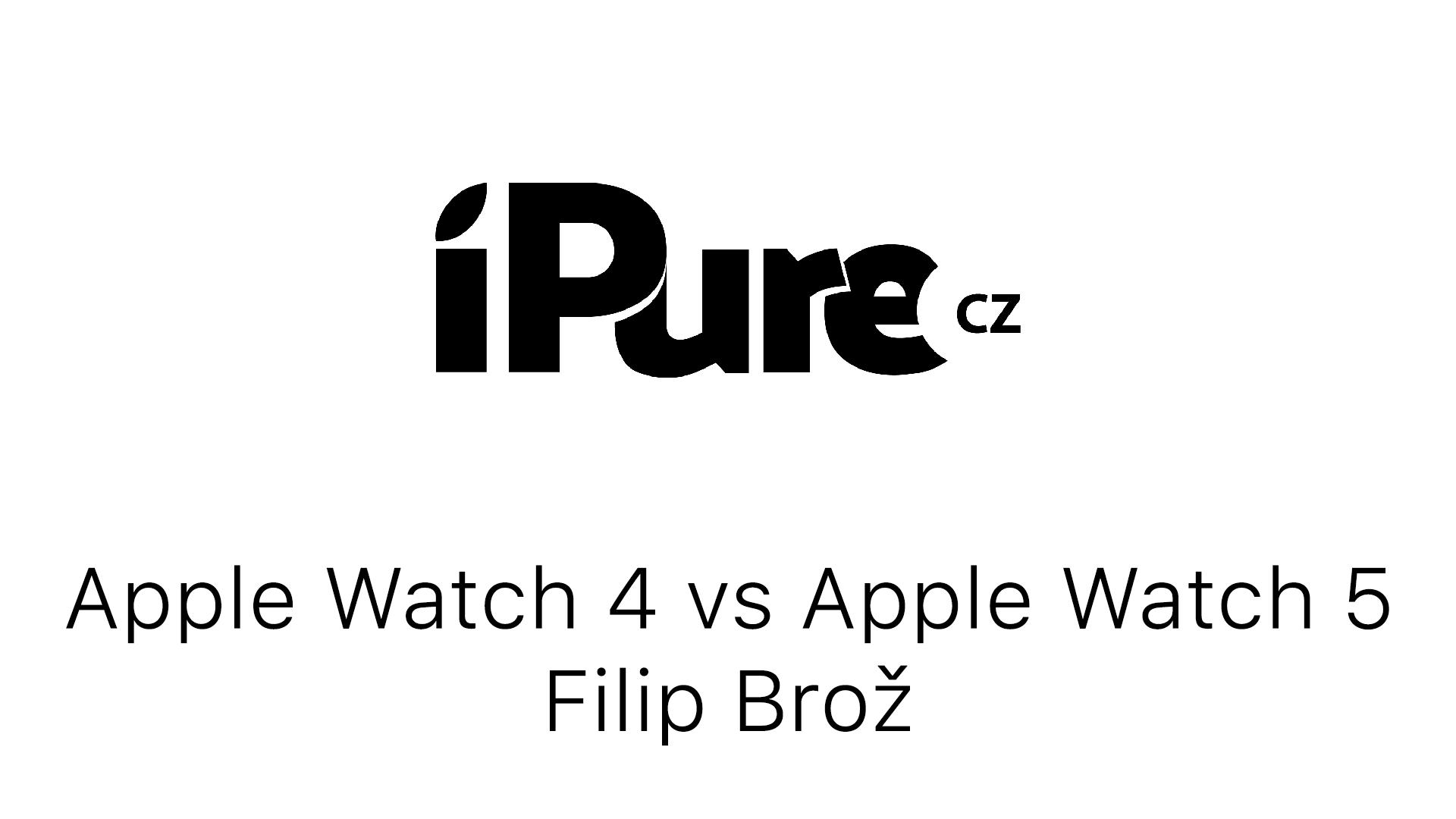Apple Watch 4 vs Apple Watch 5