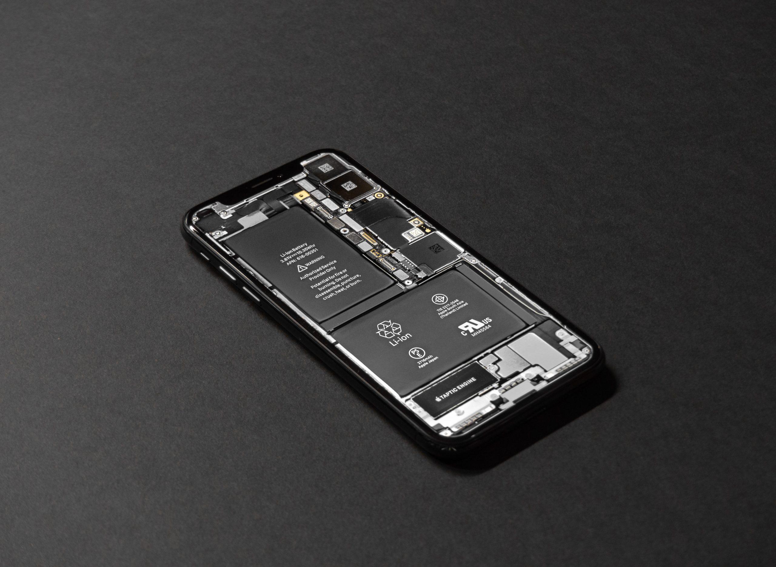 Baterie iPhonu