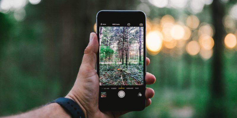 iPhone focení