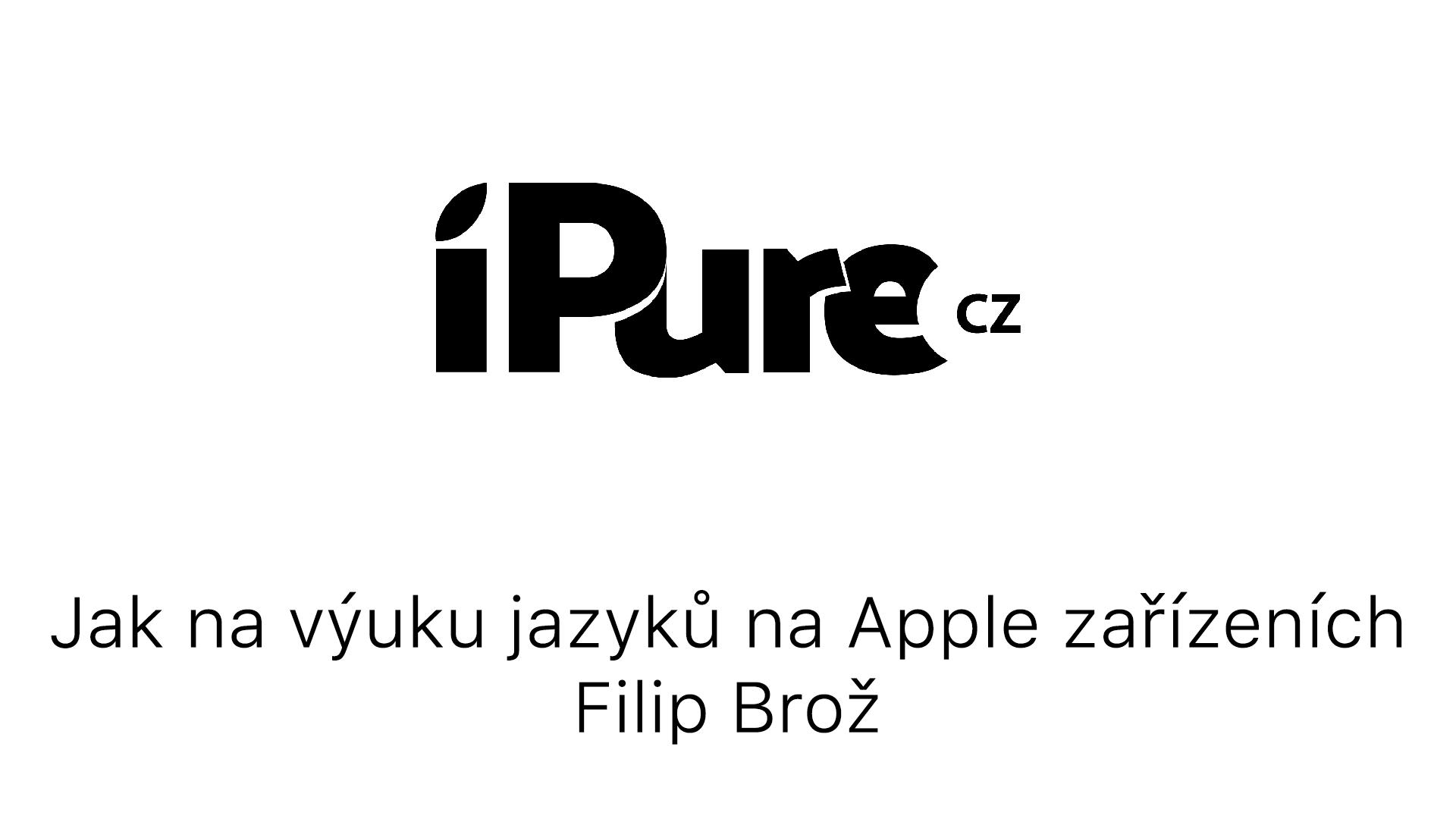 Jak na výuku jazyků na Apple zařízeních