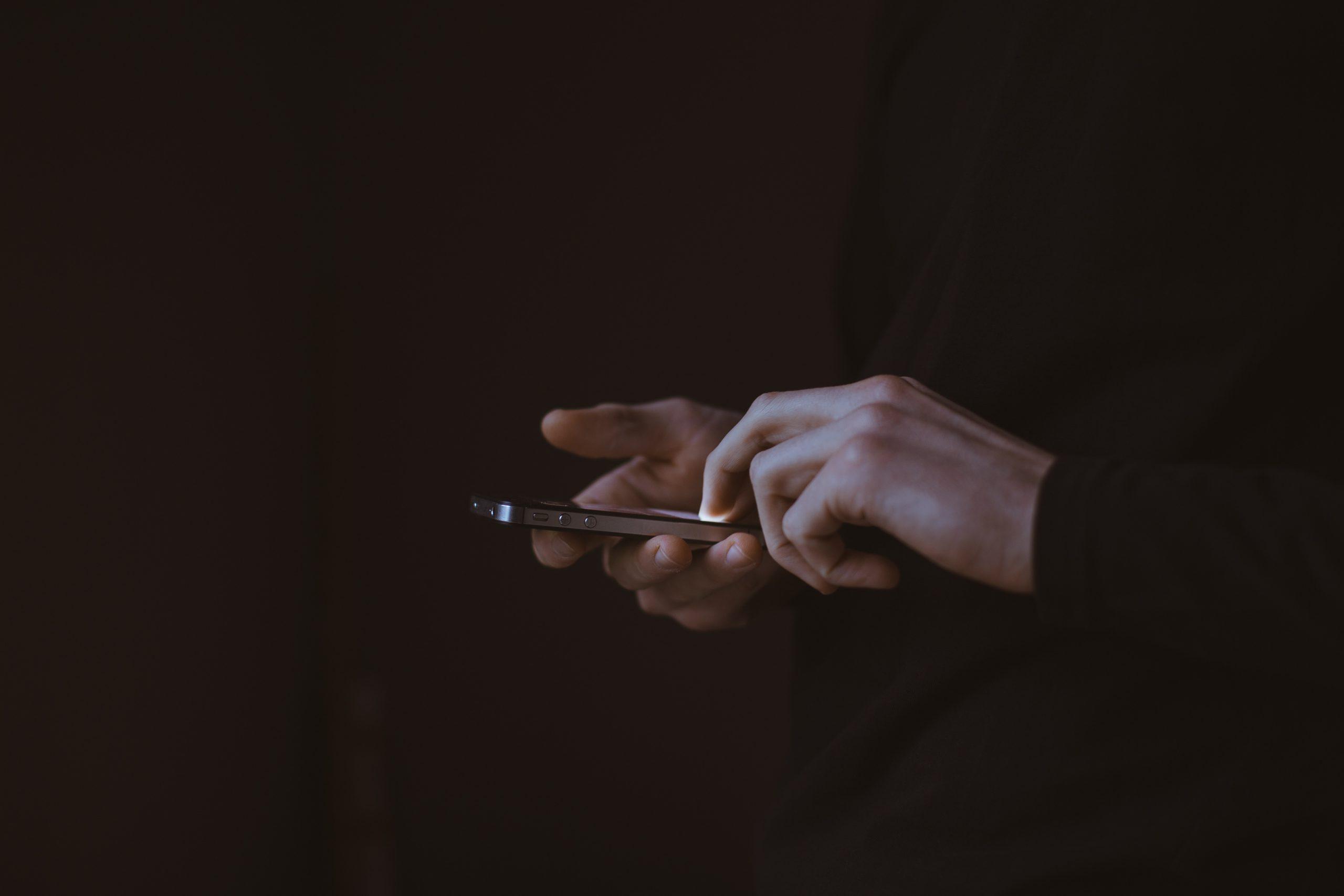 Ovládání iPhonu