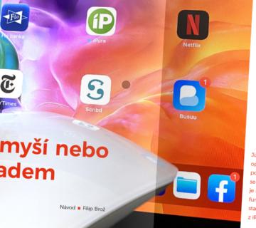 iPad a myš