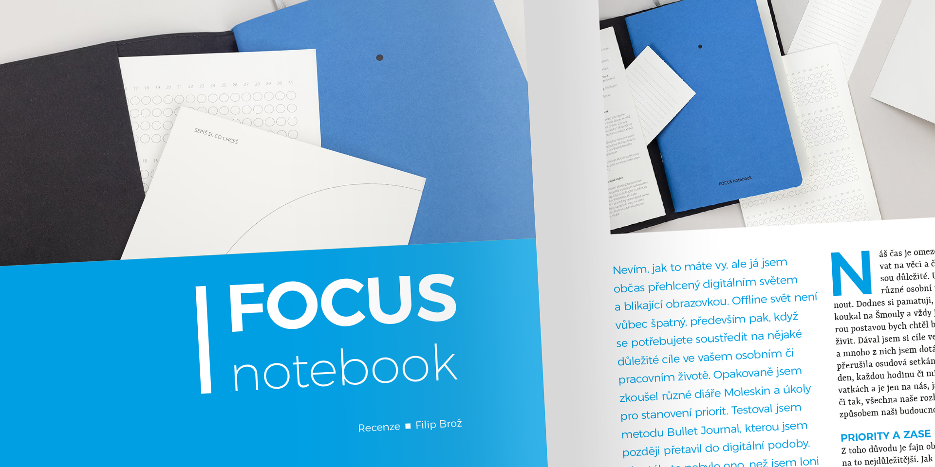 Focus notebook