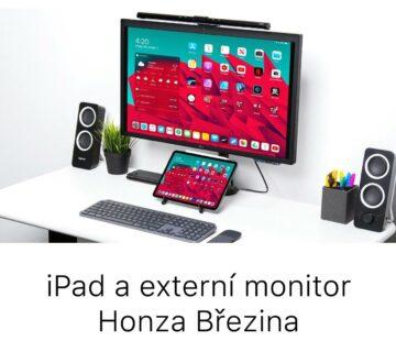 iPad a externí monitor