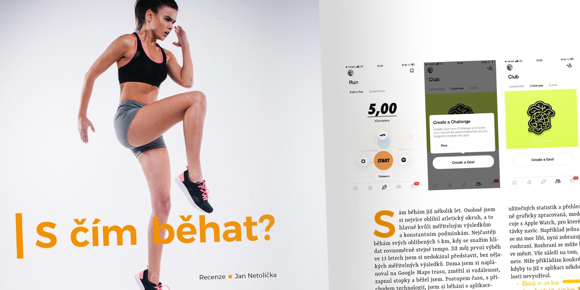 Aplikace na běh